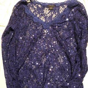 Moda International sequin shirt